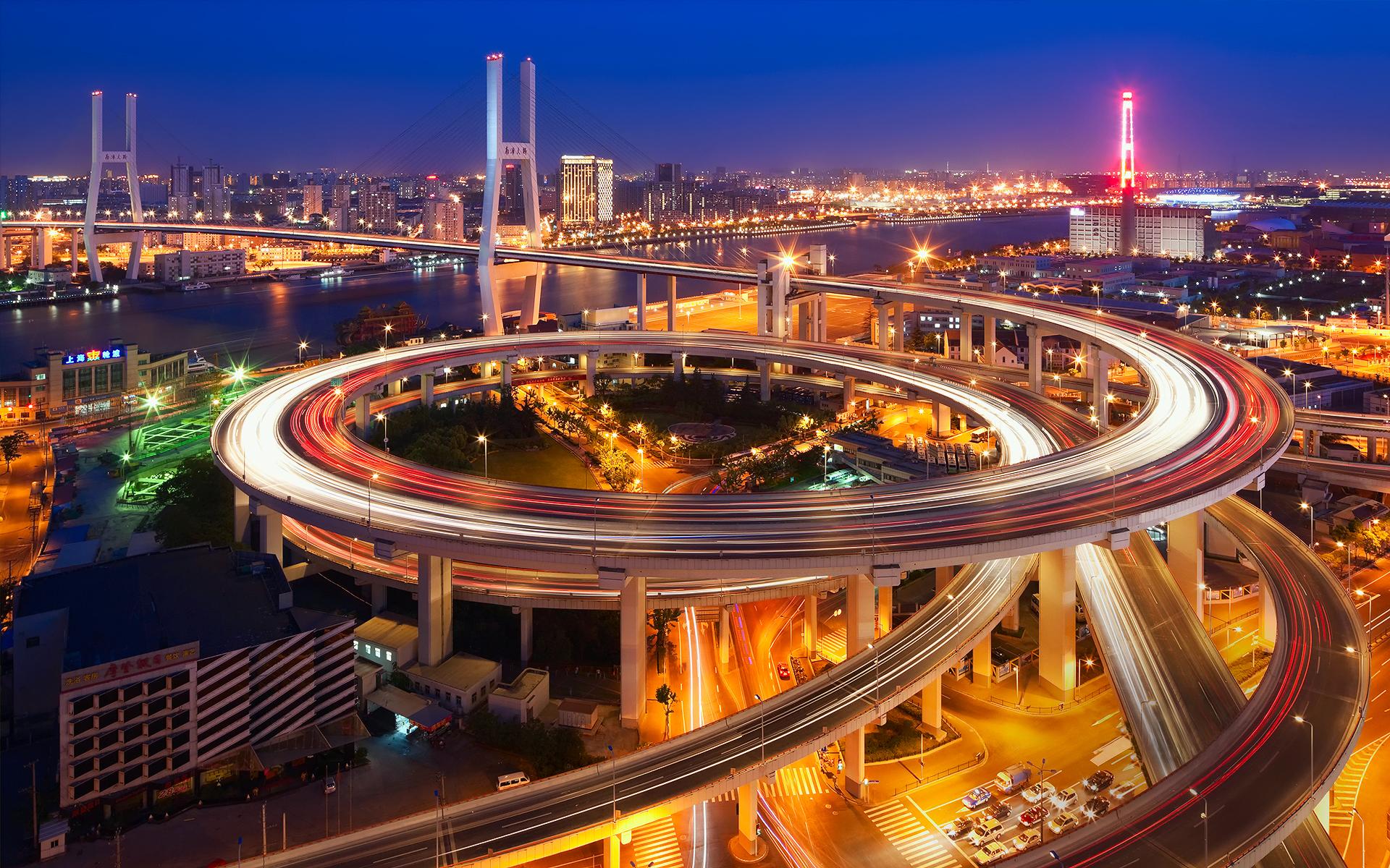 спиральная автострада